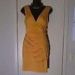 Dress canary yellow